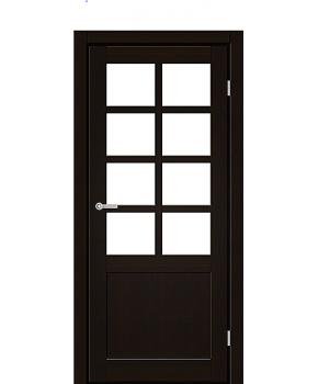 """Межкомнатные двери RTR 02. Пленка ПВХ. Фабрика """"Art Door"""". Цвет венге"""