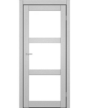 """Межкомнатные двери ART 03-02. Пленка ПВХ. Фабрика """"Art Door"""". Цвет металлик"""