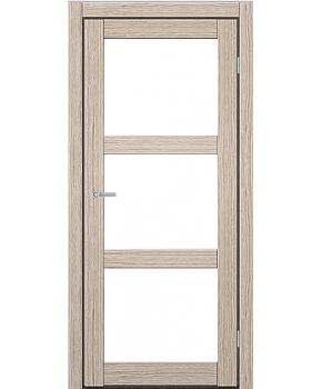 """Межкомнатные двери ART 03-02. Пленка ПВХ. Фабрика """"Art Door"""". Цвет беленый дуб"""