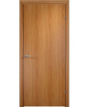 """Межкомнатные двери """"Глухие гладкие"""" ПГ. Фабрика Омис. Покрытие пленка ПВХ. Цвет - ольха европейская"""