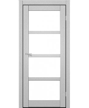 """Межкомнатные двери ART 04-02. Пленка ПВХ. Фабрика """"Art Door"""". Цвет металлик"""