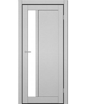 """Межкомнатные двери ART 06-04. Пленка ПВХ. Фабрика """"Art Door"""". Цвет металлик"""