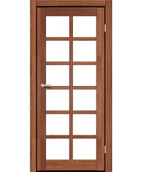 """Межкомнатные двери RTR 06. Пленка ПВХ. Фабрика """"Art Door"""". Цвет дуб капучино"""