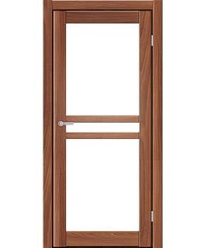 """Межкомнатные двери ART 07-02. Пленка ПВХ. Фабрика """"Art Door"""". Цвет орех"""