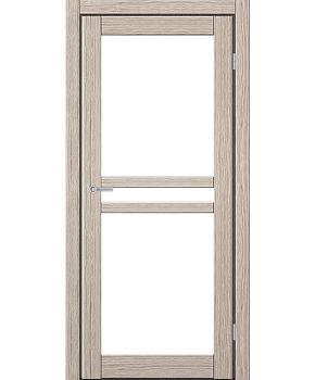 """Межкомнатные двери ART 07-02. Пленка ПВХ. Фабрика """"Art Door"""". Цвет беленый дуб"""