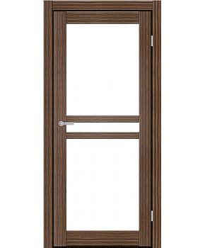 """Межкомнатные двери ART 07-02. Пленка ПВХ. Фабрика """"Art Door"""". Цвет зебрано"""