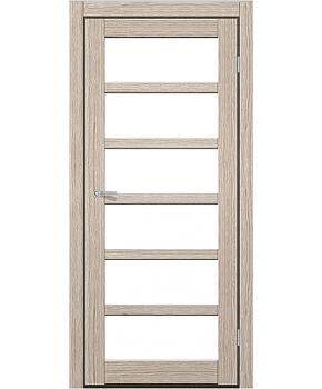 """Межкомнатные двери ART 08-02. Пленка ПВХ. Фабрика """"Art Door"""". Цвет беленый дуб"""