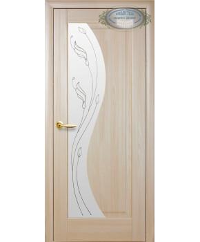 """Межкомнатные двери """"Эскада"""",ПО +Р2. пленка ПВХ, фабрика """"Новый стиль"""", цвет - ясень."""