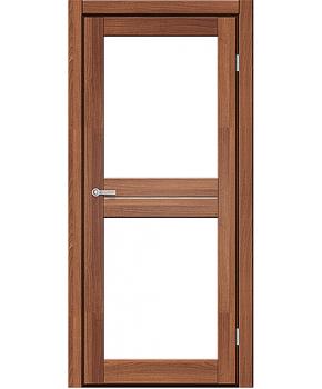 """Межкомнатные двери M 102. Пленка ПВХ. Фабрика """"Art Door"""". Цвет Дуб капучино"""