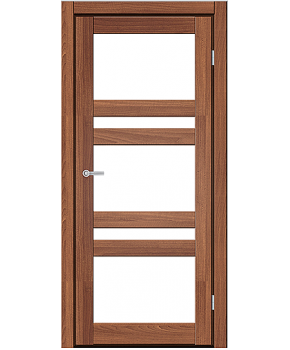 """Межкомнатные двери CTD 112. Пленка ПВХ. Фабрика """"Art Door"""". Цвет Дуб капучино"""