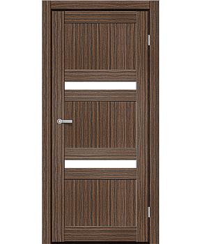 """Межкомнатные двери CTD 113. Пленка ПВХ. Фабрика """"Art Door"""". Цвет зебрано"""
