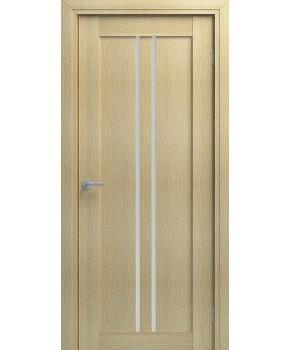 """Межкомнатные шпонированные двери """"Челси"""" ПО.  НСД. Цвет - Сандал"""