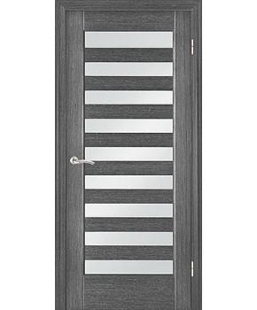 """Межкомнатные шпонированные двери """"Астория"""" ПО.  НСД. Цвет - Серый дуб"""