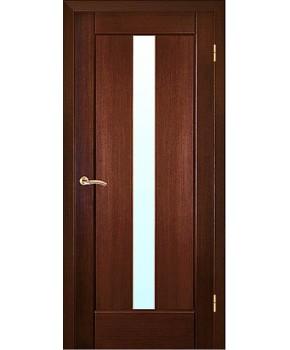 """Межкомнатные шпонированные двери """"Ланда"""" ПО.  НСД. Цвет - венге"""