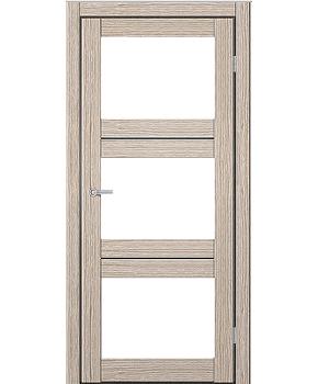 """Межкомнатные двери M 202. Пленка ПВХ. Фабрика """"Art Door"""". Цвет беленый дуб"""