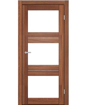 """Межкомнатные двери M 202. Пленка ПВХ. Фабрика """"Art Door"""". Цвет Дуб капучино"""