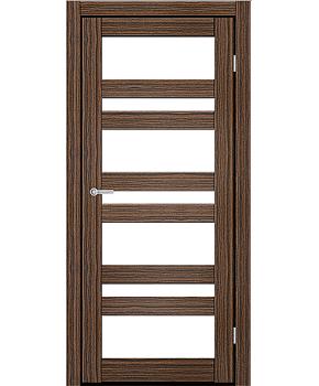 """Межкомнатные двери CTD 212. Пленка ПВХ. Фабрика """"Art Door"""". Цвет зебрано"""
