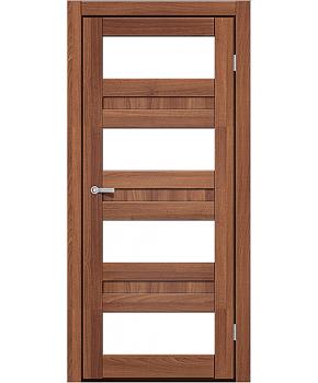 """Межкомнатные двери CTD 214. Пленка ПВХ. Фабрика """"Art Door"""". Цвет Дуб капучино"""