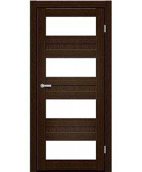 """Межкомнатные двери CTD 214. Пленка ПВХ. Фабрика """"Art Door"""". Цвет каштан"""