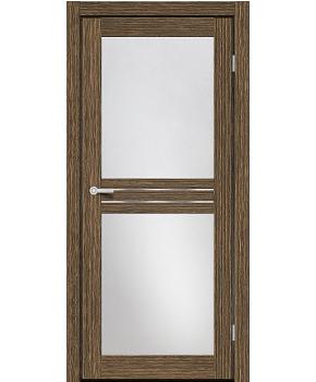 """Межкомнатные двери MD 22. Пленка ПВХ. Фабрика """"Art Door"""". Цвет зебрано"""