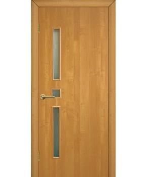 """Межкомнатные двери """"Комфорт"""" ПО. Фабрика Омис. Ламинированные. Цвет - ольха европейская"""