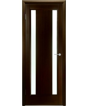 """Межкомнатные шпонированные двери """"Стелла 2"""" ПО.  НСД. Цвет - венге"""