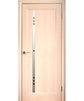 """Межкомнатные шпонированные двери """"Фиджи"""" ПО.  НСД. Цвет - дуб беленый"""