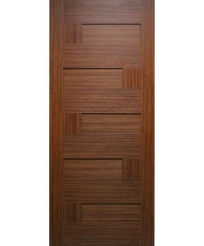 """Межкомнатные двери """"Домино"""" ПГ. Фабрика Омис. Покрытие пленка ПВХ. Цвет - каштан"""