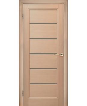 """Межкомнатные шпонированные двери """"Калипсо"""" ПО.  НСД. Цвет - дуб беленый"""