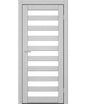 """Межкомнатные двери CTD 312. Пленка ПВХ. Фабрика """"Art Door"""". Цвет металлик"""