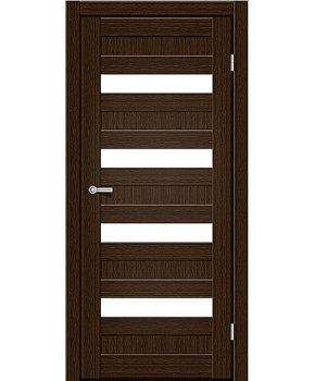 """Межкомнатные двери CTD 313. Пленка ПВХ. Фабрика """"Art Door"""". Цвет каштан"""