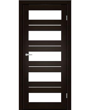 """Межкомнатные двери M 402. Пленка ПВХ. Фабрика """"Art Door"""". Цвет венге"""