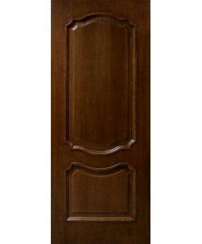 """Межкомнатные шпонированные двери """"Кармен"""" ПГ.  Фабрика Омис. Цвет - орех"""