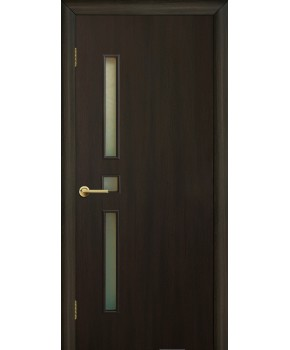 """Межкомнатные двери """"Комфорт"""" ПО. Фабрика Омис. Ламинированные. Цвет - венге"""