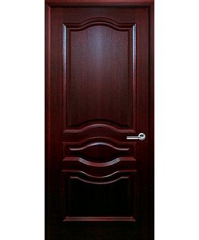 """Межкомнатные шпонированные двери """"Малиновка"""" ПГ.  Двери Белоруссии. Цвет - красное дерево"""