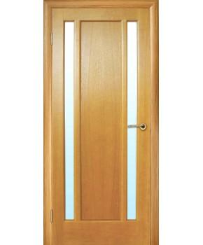 """Межкомнатные шпонированные двери """"Тектон"""" ПО.  НСД. Цвет - анегри"""