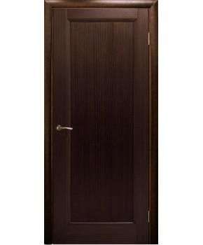 """Межкомнатные шпонированные двери """"Максима"""" ПГ.  НСД. Цвет - венге"""
