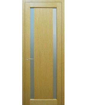 """Межкомнатные шпонированные двери """"Стелла 2"""" ПО.  НСД. Цвет - дуб классический"""