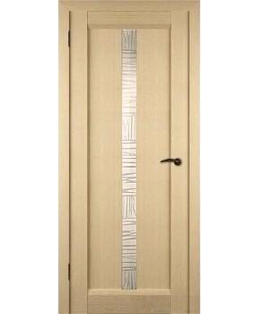 """Межкомнатные шпонированные двери """"Техно"""" ПО.  НСД. Цвет - сандал"""