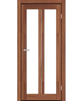 """Межкомнатные двери M 702. Пленка ПВХ. Фабрика """"Art Door"""". Цвет Дуб капучино"""