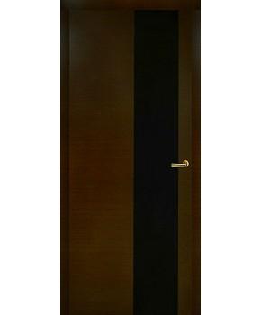 """Межкомнатные шпонированные двери """"Нео 1"""" ПО.  Двери Белоруссии. Цвет - ультрамарин"""
