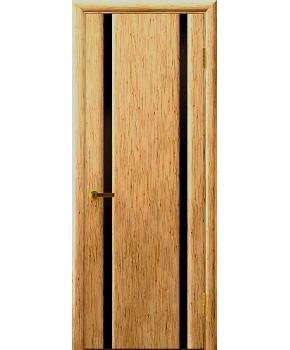 """Межкомнатные шпонированные двери """"Онтарио"""" ПГ.  НСД. Цвет - дуб классический"""
