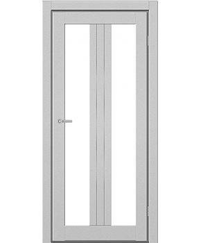 """Межкомнатные двери M 802. Пленка ПВХ. Фабрика """"Art Door"""". Цвет металлик"""