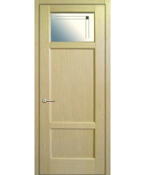 """Межкомнатные шпонированные двери """"Генри"""" ПО.  НСД. Цвет - дуб классический"""