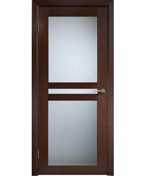 """Межкомнатные шпонированные двери """"Берлин Сити"""" ПО.  Галерея дверей. Цвет - венге"""