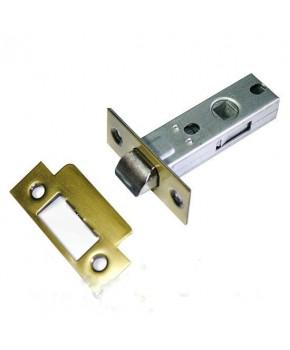 Дверной врезной механизм - защелка. Цвет золото