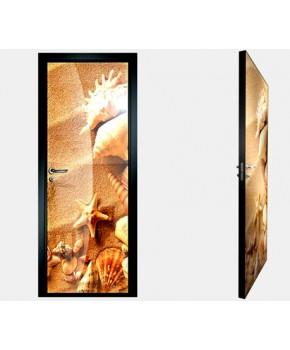 """Межкомнатные стеклокаркасные двери. Модель """"12 F"""". Фабрика Аксиома. Покрытие зеркало. фотопечать"""