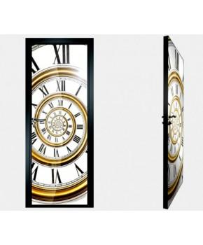 """Межкомнатные стеклокаркасные двери. Модель """"20 F"""". Фабрика Аксиома. Покрытие зеркало. фотопечать"""