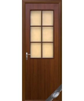 """Межкомнатные двери """"Колори В"""" фабрика """"Новый стиль"""", экошпон, цвет - орех."""