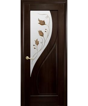 """Межкомнатные двери """"Прима"""",ПО +Р1. пленка ПВХ, фабрика """"Новый стиль"""", цвет - венге"""